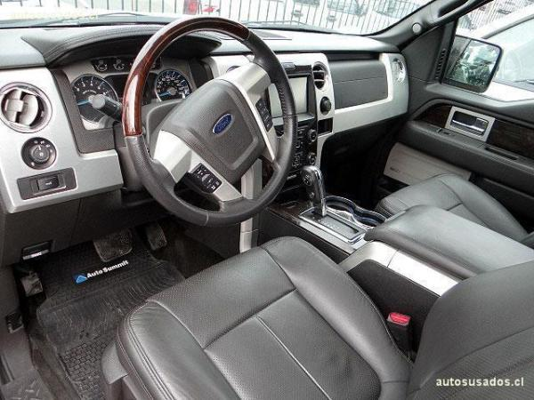 Ford F-150 PLATINIUM CAB. 4X4 DESC. año 2015