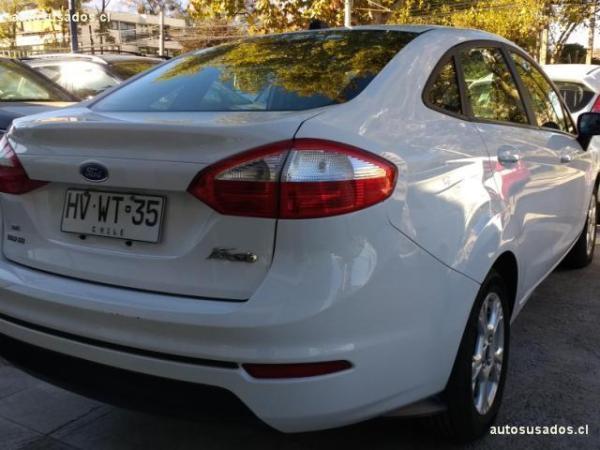 Ford Fiesta 1.6 SEDAN SE año 2016