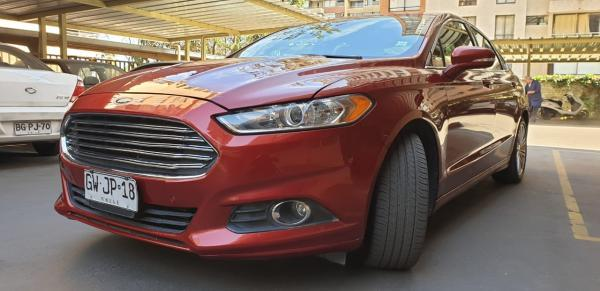 Ford Fusion 2.0 ECOBOOST AT año 2015