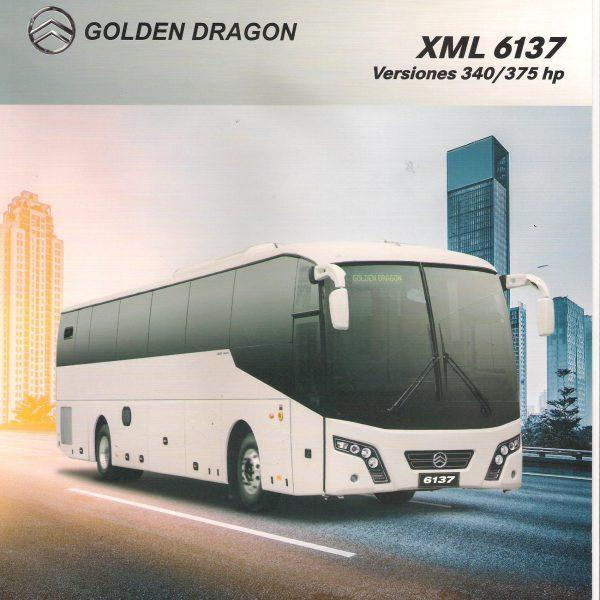 Golden Dragon BUS XML 6137 Desde 21 año 2018