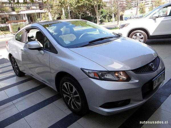 Honda Civic COUPE EX 1.8 año 2014