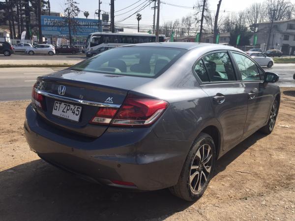 Honda Civic EXL 1.8 año 2015