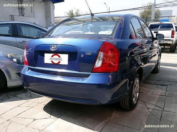 Hyundai Accent 1.6 año 2011