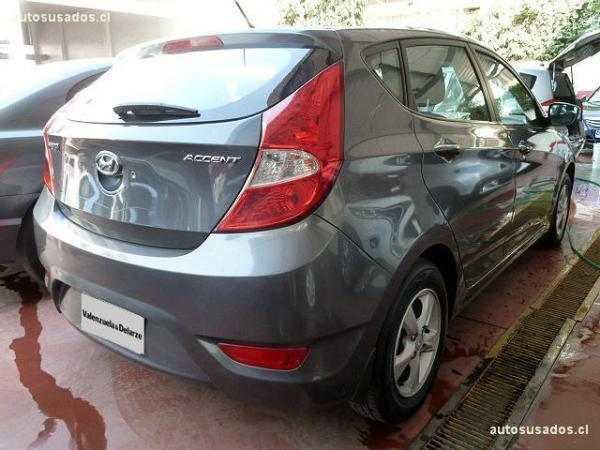 Hyundai Accent GLS año 2012