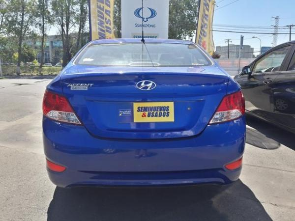 Hyundai Accent ACCENT RB GL 1.4 año 2014