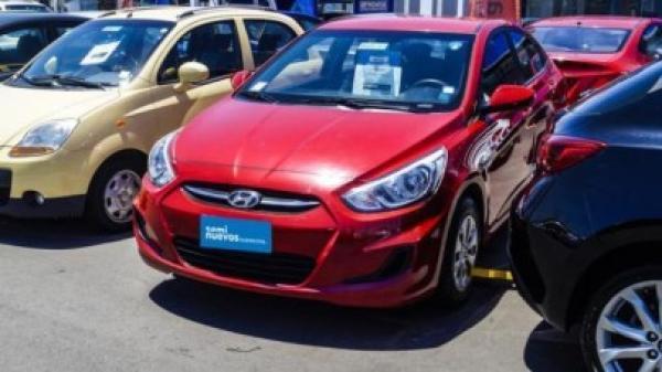 Hyundai Accent 1.4 RB GL AC año 2015