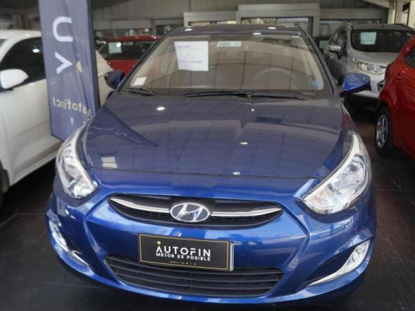 Hyundai Accent RB SDN 2AB CL 1.4 año 2017
