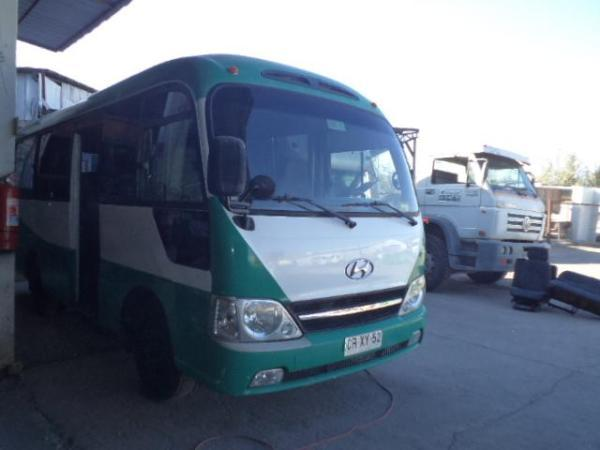 Hyundai County 25 DLX ~ CRXY-52 año 2010