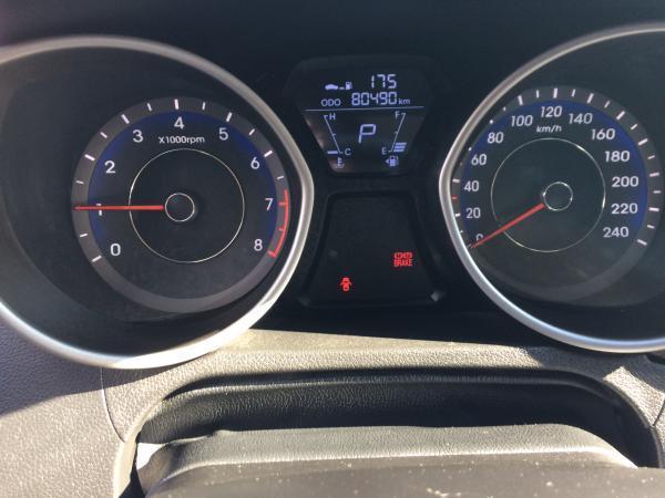Hyundai Elantra GLS 1.6 año 2012