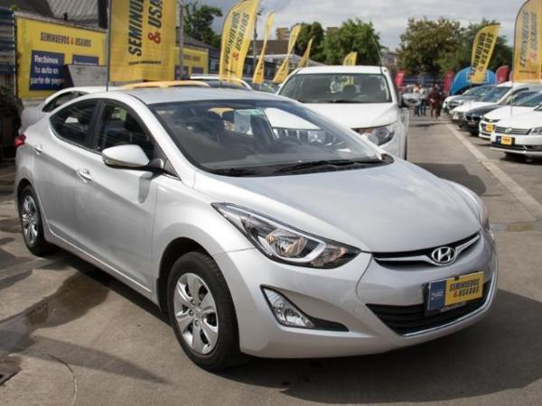 Hyundai Elantra Elantra Fl Gls 1.6 año 2016