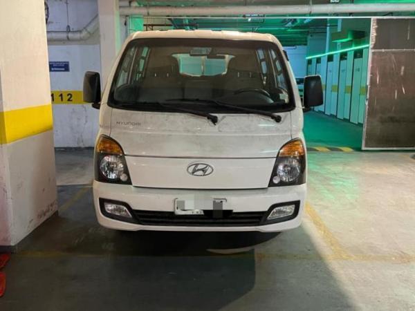 Hyundai Porter CRDI GLS 2.5 año 2016