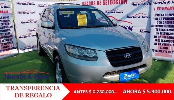 Hyundai Santa Fe  año 2010