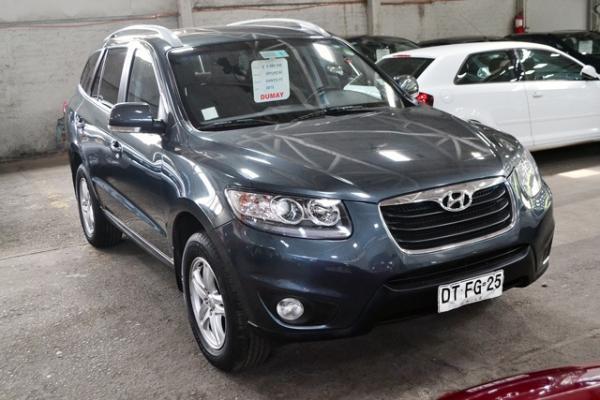 Hyundai Santa Fe GLS 2.4 AT año 2012