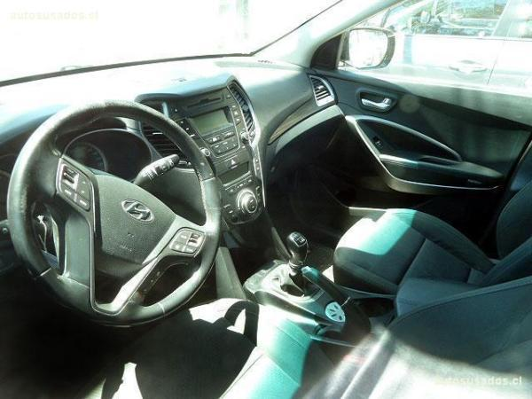 Hyundai Santa Fe 2.2 GLS CRDI 6MT año 2013