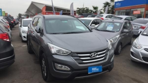 Hyundai Santa Fe CRDI año 2013