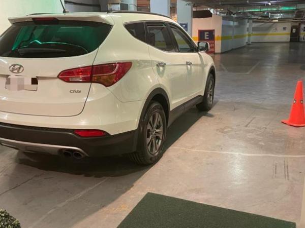 Hyundai Santa Fe GL 2.2 año 2014
