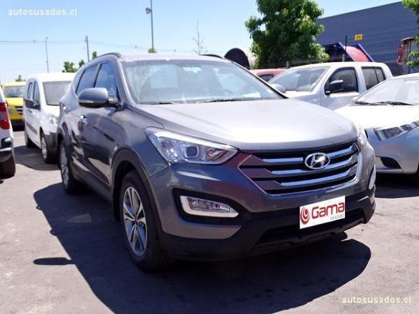 Hyundai Santa Fe DM 2.4 4X4 año 2015