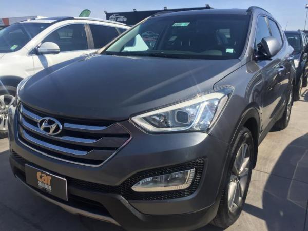 Hyundai Santa Fe 2.2 AT AC año 2015