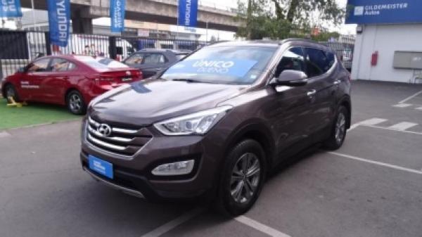 Hyundai Santa Fe 2.4 MT año 2015
