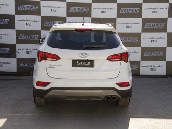 Hyundai Santa Fe MT año 2018