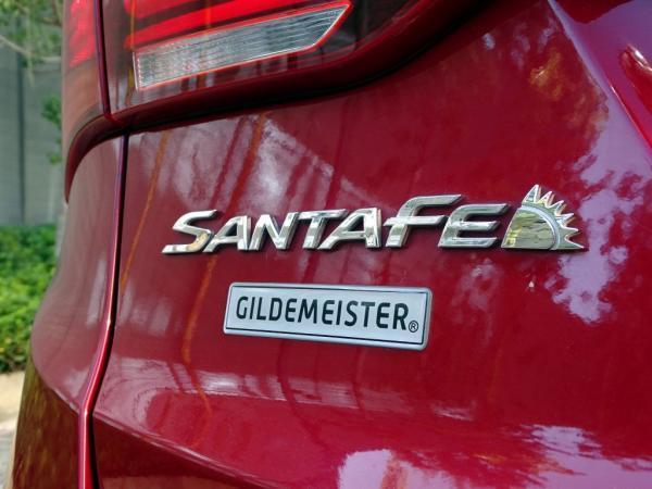 Hyundai Santa Fe gls 4x4 año 2018