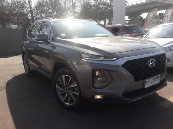 Hyundai Santa Fe 4WD 2.4 año 2018