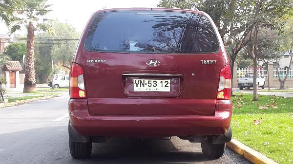 Hyundai Trajet VAN año 2003