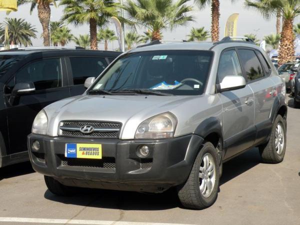 Hyundai Tucson Tucson Gls 4x4 2.7 año 2008