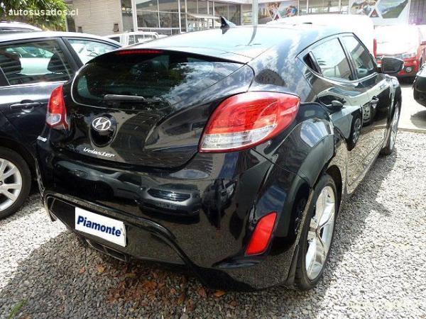 Hyundai Veloster 1.6 año 2012