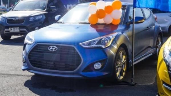 Hyundai Veloster 1.6 GLS TURBO año 2017
