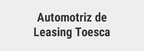 Automotriz de Leasing Toesca