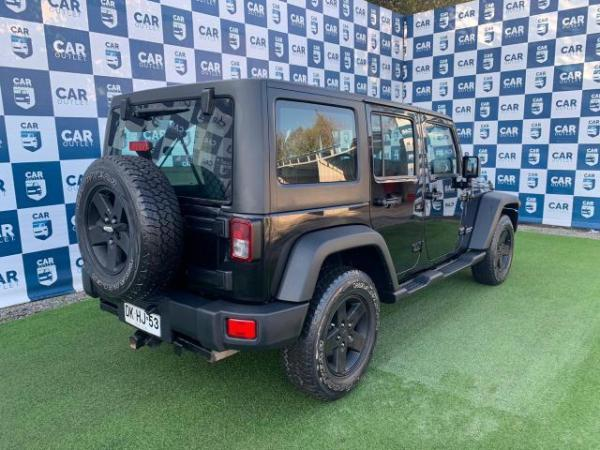 Jeep Wrangler RUBICON UNLIMITED 3.8 AT año 2012