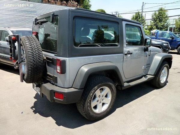 Jeep Wrangler SPORT 3.6 año 2014