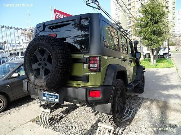 Jeep Wrangler U año 2014