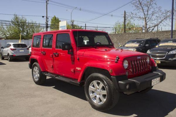 Jeep Wrangler WRANGLER UNLTD SAHARA 4X4 año 2016