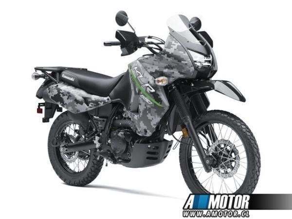 Kawasaki KLR CAMO año 2018