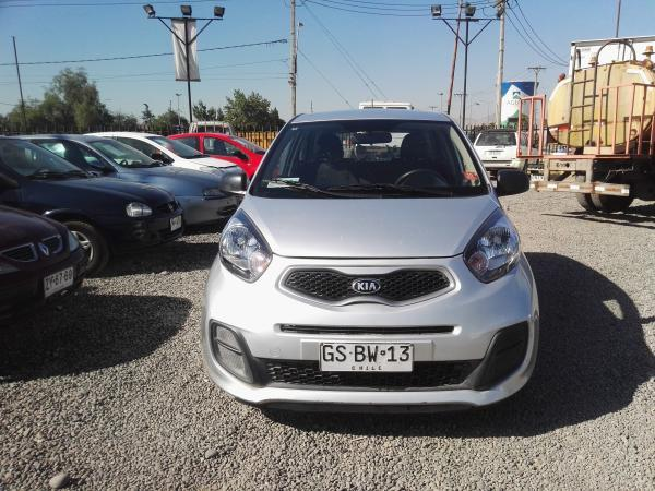 Kia Morning LX 1.0 año 2014