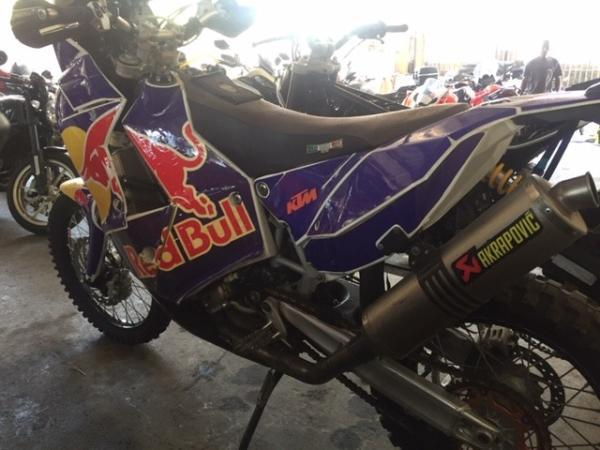 KTM 450 RALLY FACTORY año 2014