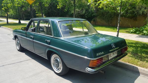 Mercedes-Benz 230/6 CLASICO 1975! Vende dueño año 1975