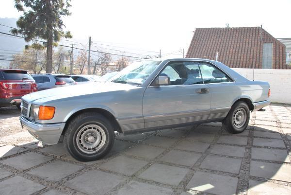 Mercedes-Benz 380 SEC COUPE año 1985