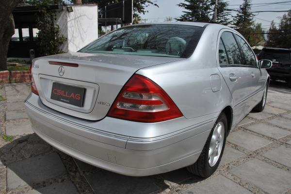 Mercedes-Benz C180 Elegance 2.0 año 2002