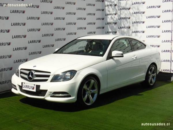 Mercedes-Benz C180 Sport Coupé 1.8 año 2013