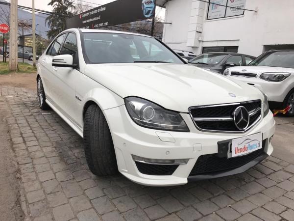 Mercedes-Benz C63 6.3 año 2012