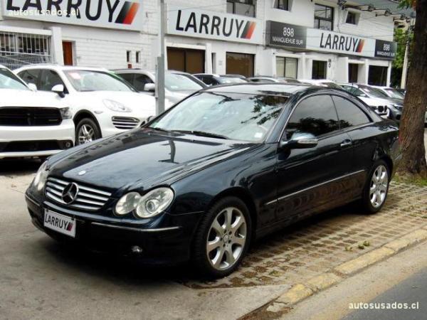 Mercedes-Benz CLK500 Coupé 5.0 año 2003