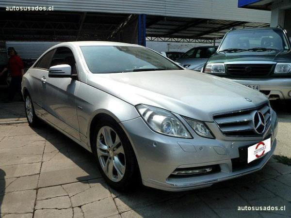 Mercedes-Benz E200 COUPE 1.8 TURBO año 2012