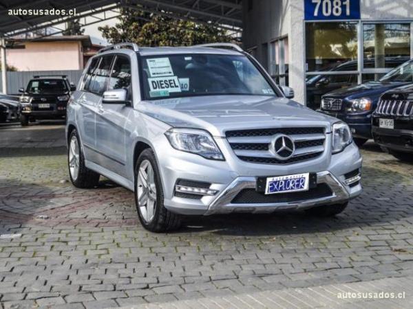 Mercedes-Benz GLK 2.2 CDI BLUEEFFICIENCY 4M año 2014