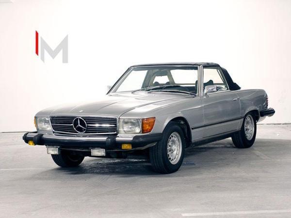 Mercedes-Benz SL400 SL450 CABRIO año 1974