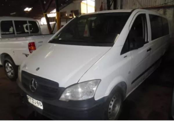 Mercedes-Benz Vito  año 2013