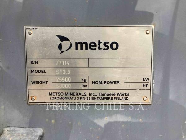 Metso ST 3.5  año 2013