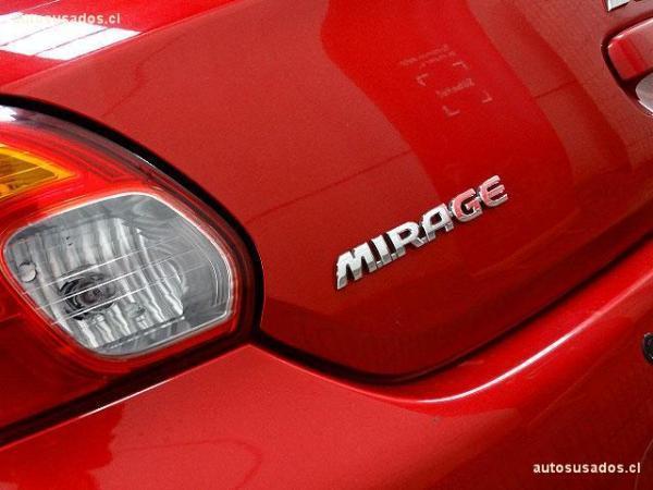 Mitsubishi Mirage GLS MT año 2016